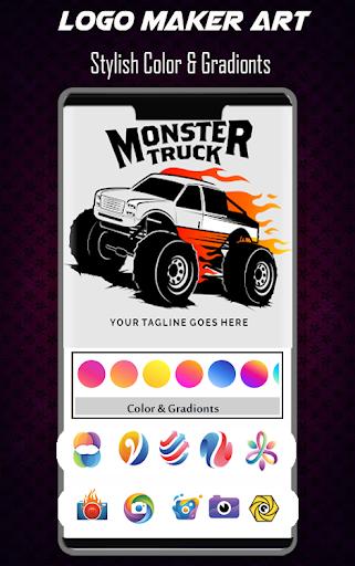 Logo Maker Free - 3D Logo Creator, Logo Design Art 1.3 Screenshots 5