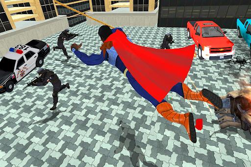 Black Rope Hero Vegas Mafia Superhero Crime Battle  screenshots 10