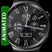 Classic Black HD WatchFace Widget & Live Wallpaper