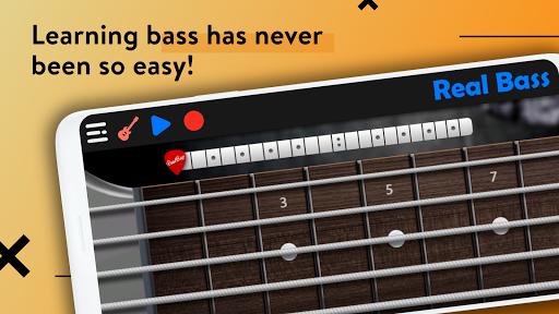 REAL BASS: Electric bass guitar 6.24.0 Screenshots 5
