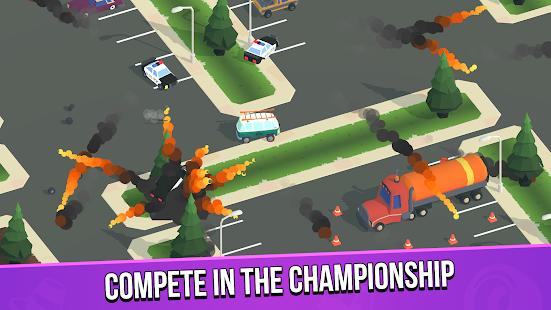 Image For Smash racing: drive from cops, make an epic crash! Versi 6.7.7 10