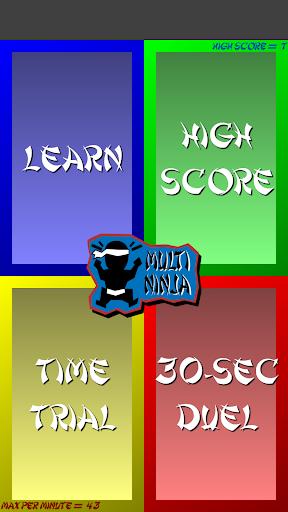 Multiplication Ninja 31 screenshots 9