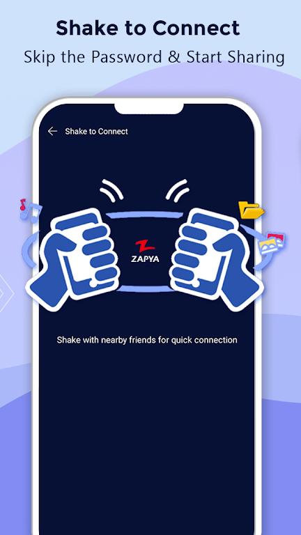 Zapya - File Transfer, Share Apps & Music Playlist poster 5