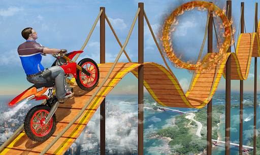 Bike Tricks Trail Stunt Master -Impossible Tracks 11 screenshots 9