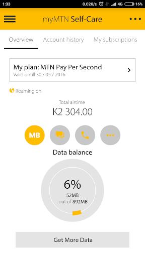 MyMTN  Screenshots 2