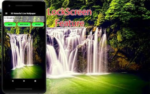 3D Waterfall Wallpaper – Screen Lock, Sensor, Auto 170.GG [Mod + APK] Android 3