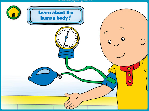 Caillou Check Up - Doctor 1.4 screenshots 9