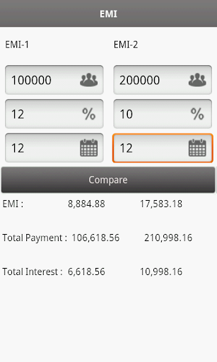 EMI Calculator For PC Windows (7, 8, 10, 10X) & Mac Computer Image Number- 8