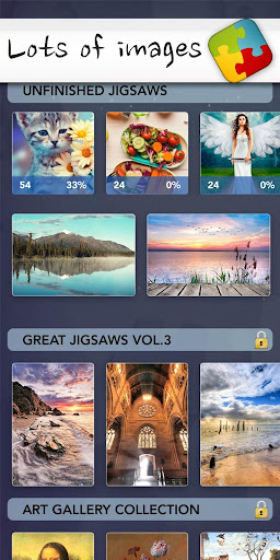 Jigsaw Puzzle HD - play best free family games  screenshots 5
