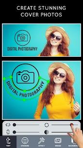 Cover Photo Maker Premium v2.5 MOD APK – Banners & Thumbnails Designer 1