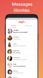 Mingle2 : Chat et rencontres Capture d'écran