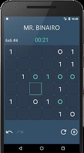 Mr. Binairo - Binary Sudoku Puzzle