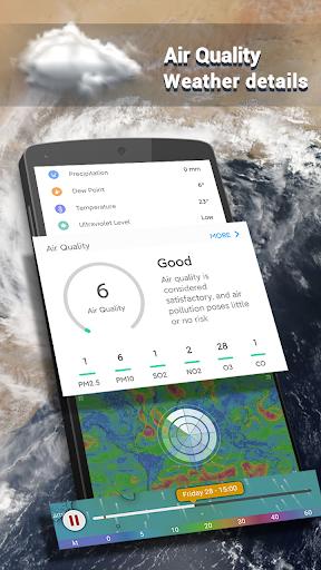 Weather Forecast - Live Weather Radar app 1.2.9 Screenshots 2