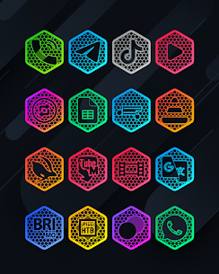 Hexanet APK- Neon Icon Pack [PAID] Download Latest Version 1