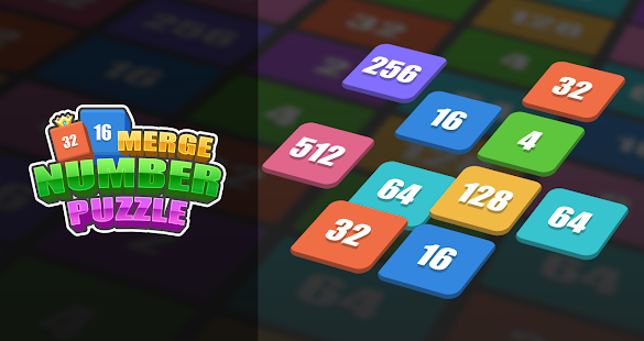 Merge Number Puzzle-New 2048