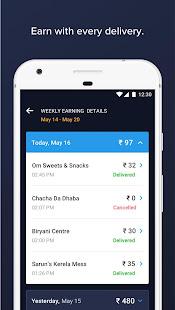 Swiggy Delivery Partner App  Screenshots 3