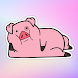 Cute Pig Stickers WAStickerApps