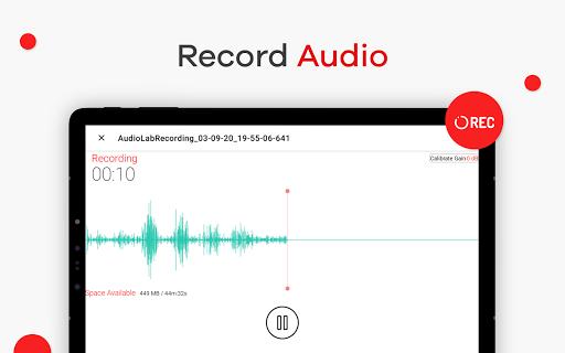 AudioLab ud83cudfb5 Audio Editor Recorder & Ringtone Maker 1.1.6 Screenshots 11