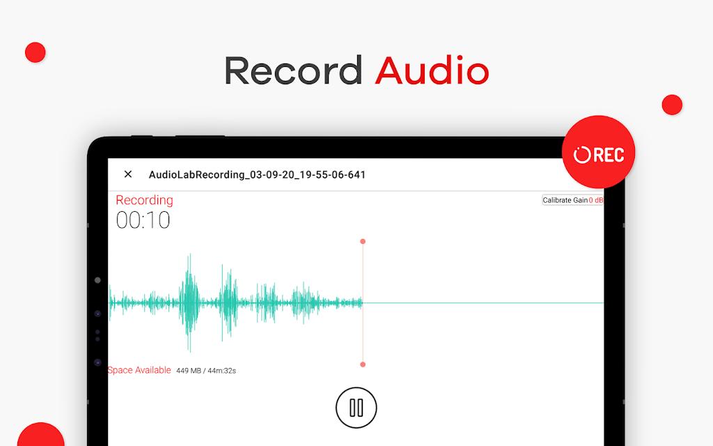 AudioLab 🎵 Audio Editor Recorder & Ringtone Maker  poster 10