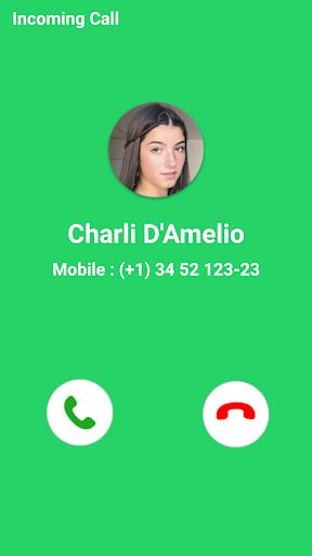 ud83dudcdeCharli D'Amelio Fake Video Call screenshots 2