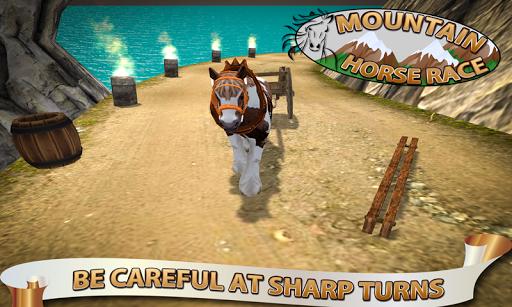 ultimate horse mountain race screenshot 2