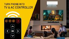 すべてのテレビとエアコン用のユニバーサルリモコン-無料のおすすめ画像1