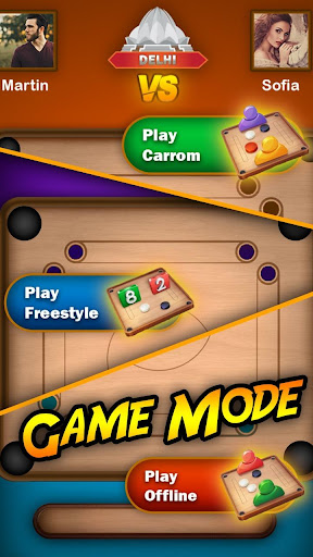 Carrom Play - Carrom Board Pool Game 15.0 screenshots 2