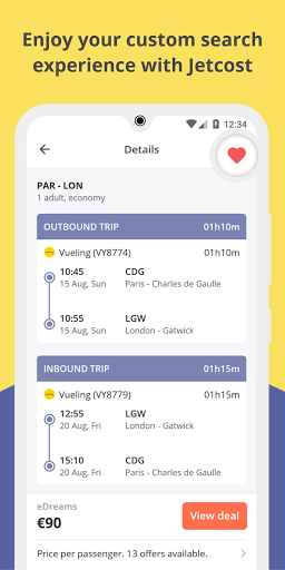 Jetcost: flights, hotels, cars  screenshots 6