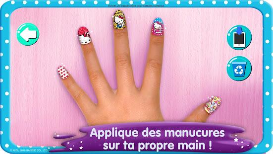 Salon de manucure Hello Kitty screenshots apk mod 4