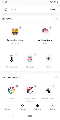 OneFootball - Soccer News, Scores & Stats  screenshots 4