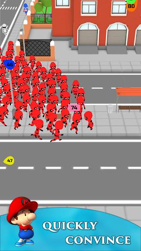 Crowd Run 3D : Multiplayer  screenshots 4
