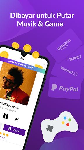 Dapat Cash: Putar Musik & Game, Hasilkan Uang