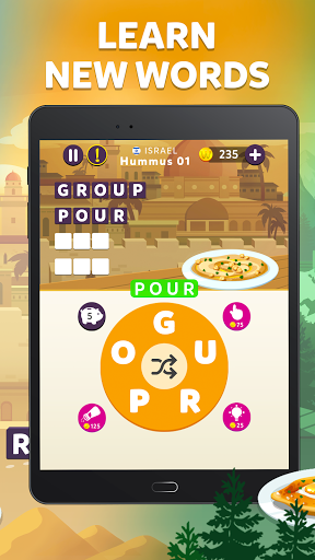 Wordelicious - Play Word Search Food Puzzle Game apkpoly screenshots 7