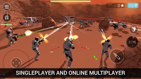 CyberSphere: TPS Online Action-Shooting Game Hack Game Android & iOS 5