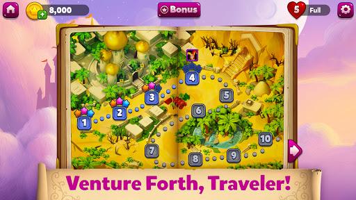 Solitaire Heaven - TriPeaks Journey Card Adventure  screenshots 2