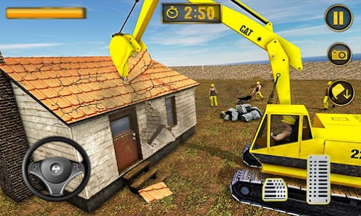 Wrecking Crane Simulator 2019: House Moving Game 1.5 Android Mod APK 1