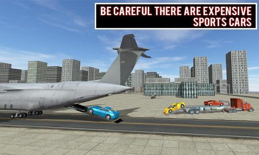 modern car transporter plane screenshot 3
