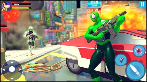 Strange Robot Vs Amazing Spider Vice City Hero  screenshots 5