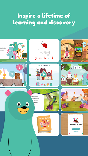 Khan Academy Kids: Free educational games & books apkdebit screenshots 2