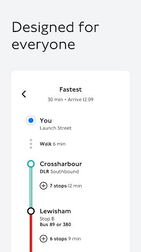 TfL Go: Live Tube, Bus & Rail android2mod screenshots 4