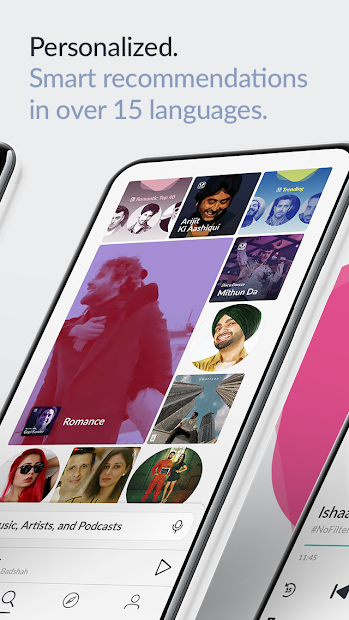 Imágen 3 de JioSaavn Music & Radio – JioTunes, Podcasts, Songs para android
