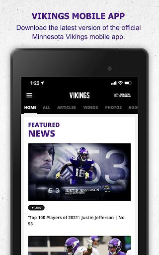 Minnesota Vikings Mobile android2mod screenshots 9