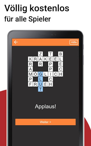 Kreuzwortru00e4tsel Deutsch kostenlos  Screenshots 6