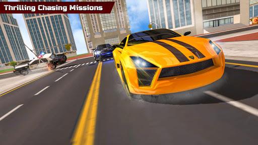 Télécharger Gratuit Police Car Chase: Gangster Crime Simulator 2020 mod apk screenshots 3