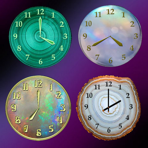 Mineral Clock deluxe For PC Windows (7, 8, 10 and 10x) & Mac Computer
