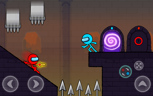 Red and Blue Stickman : Season 2 android2mod screenshots 19