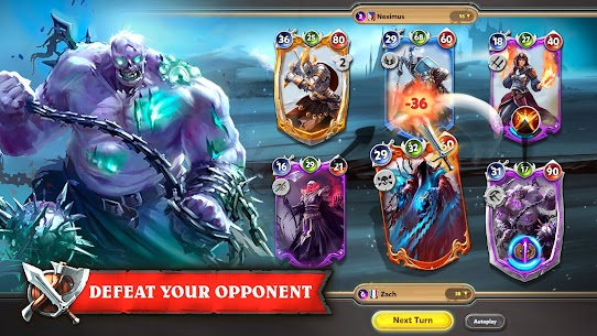 Shadow Deck: Magic Heroes Card Legacy CCG arena 4