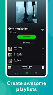 eSound: Free Music Player for MP3 music streaming 3