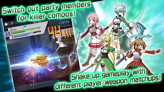Sword Art Online Memory Defrag MOD APK 2.6.1 (SAO Hack, Unlimited Diamonds) 2
