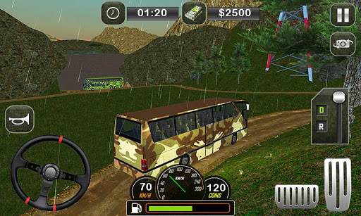 Army Bus Driving 2019 - Military Coach Transporter 1.0.9 screenshots 3